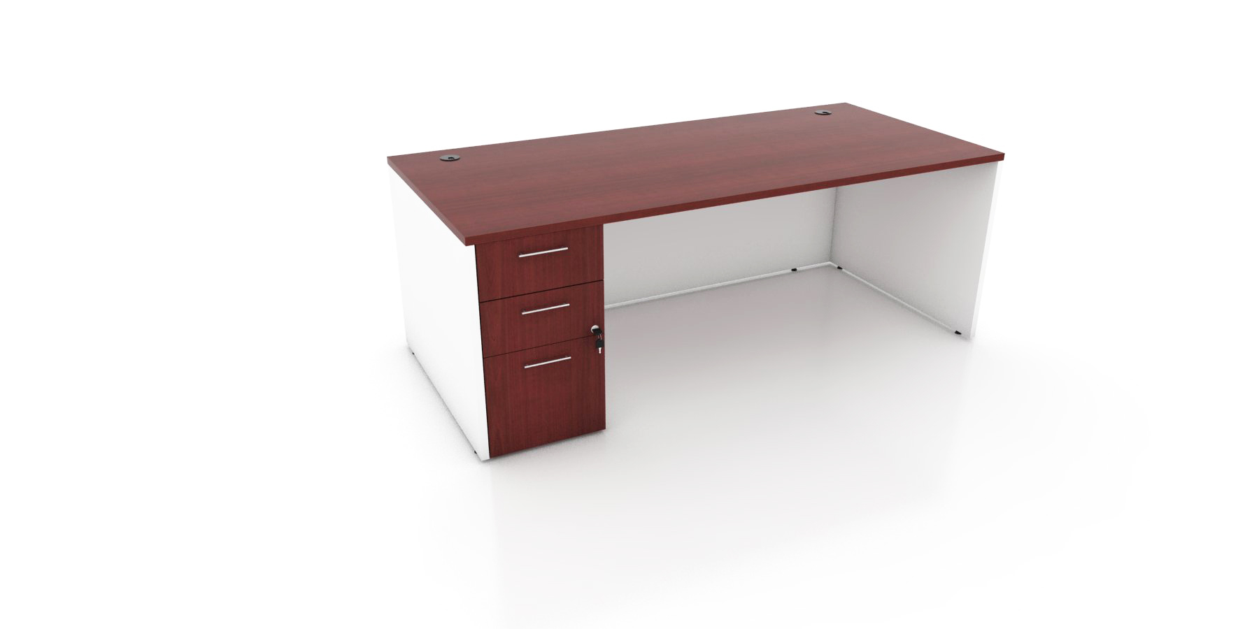 Rectangular Computer Desk Small Office Desk
