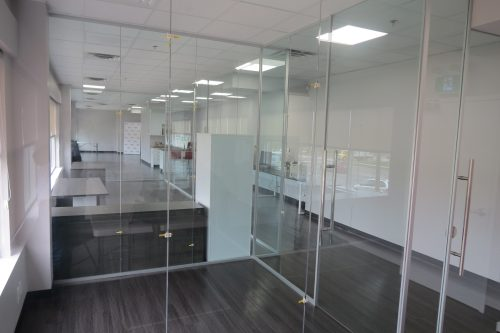 Office Furniture - Glass Walls