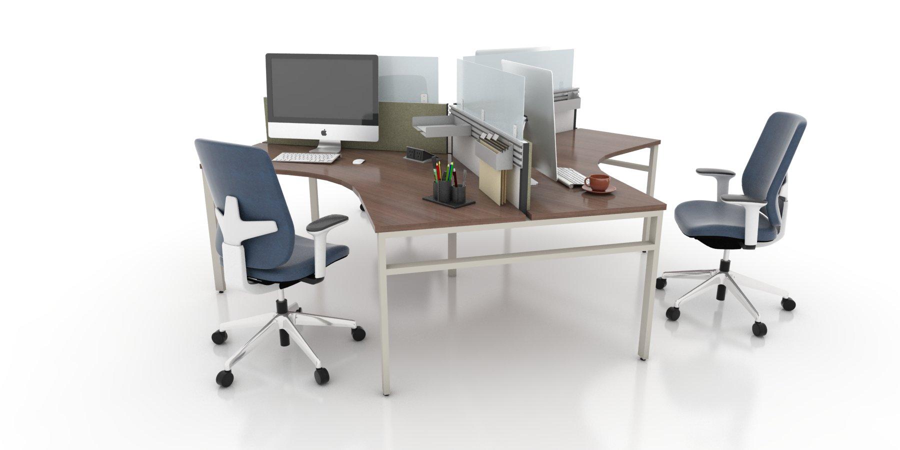 120 176 Bench Workstations Modern Office Furniture