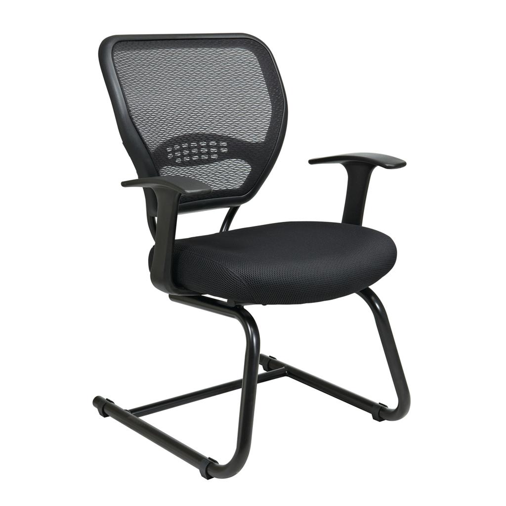 Guest Chair Air Grid Black Office Chair