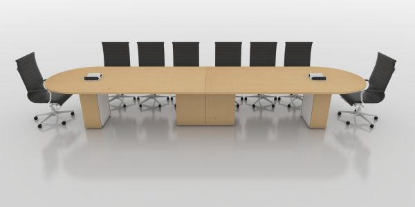 Racetrack Table - Maple
