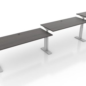 Agile-Height Adjustable Desk - Tuxedo