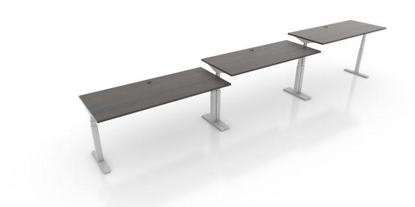 Agile-Height Adjustable Desk - Tuxedo